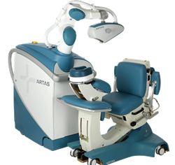 ARTAS Robotic System offered by Dr. Parsa Mohebi