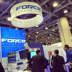 The Force Marketing booth at NADA 2015.