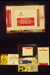 Blood and Biohazard Cleaners' Biohazard Emergency Kit
