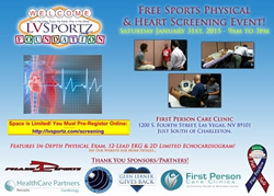 Las Vegas Sportz Foundation offers free heart screenings and sports physicals.
