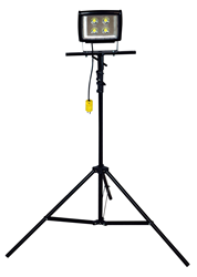 3 1/2' to 10' Telescoping Tripod Equipped with a 50 Watt LED Light Head