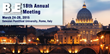 Dr. Penny Werthner and Marc Saab, MEng to Teach Workshop on Mental Training with Biofeedback at the BFE Annual Meeting in Rome, Italy
