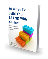 50 Ways To Build Your Brand With Content - eBook