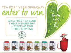 Enter to Win Tea for 1 Year from The Tea Spot