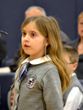 Calling on her phonetic ability, an Everest Academy student does her best to compete in the Annual Spelling Bee.
