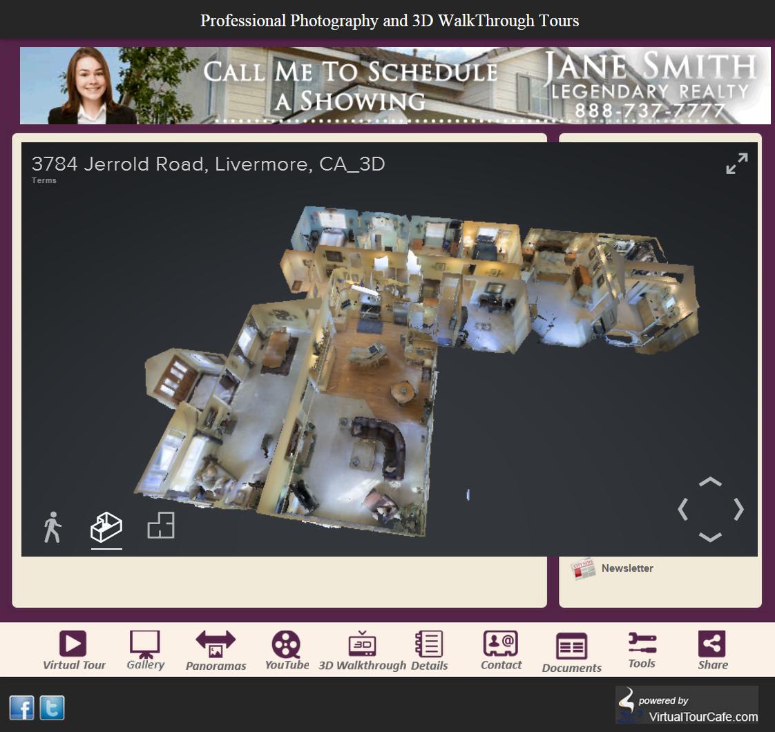 Virtualtourcafe offers 3 d virtual reality alternative to for Virtual house walkthrough