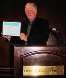 "David Hearne wins award for  ""The Christmas Special"" novel."