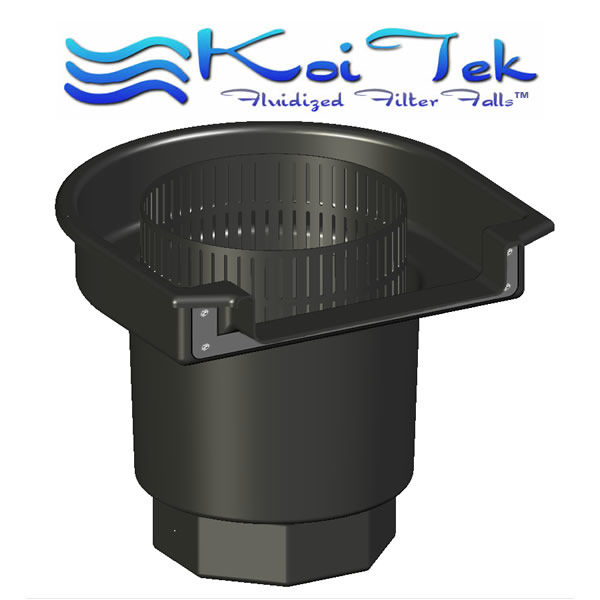 Koitek filter systems introduces new self cleaning for Biological pond filter