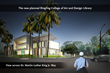 Rendering of Planned Ringling College Library - View From Martin Luther King Jr. Way