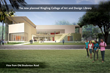 Rendering of Planned Ringling College Library - View From Old Bradenton Road
