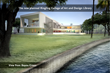 Rendering of Planned Ringling College Library - View From Bayou Green