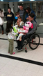 Cecilia Reunited with Adoptive Father Corey Wieseman of Aurora, IL