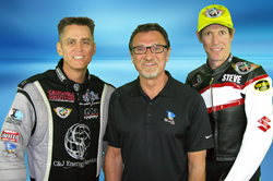 Pictured left to right -- Larry Dixon, Nick Salamone (President of YourVelocity.com) and Steve Johnson