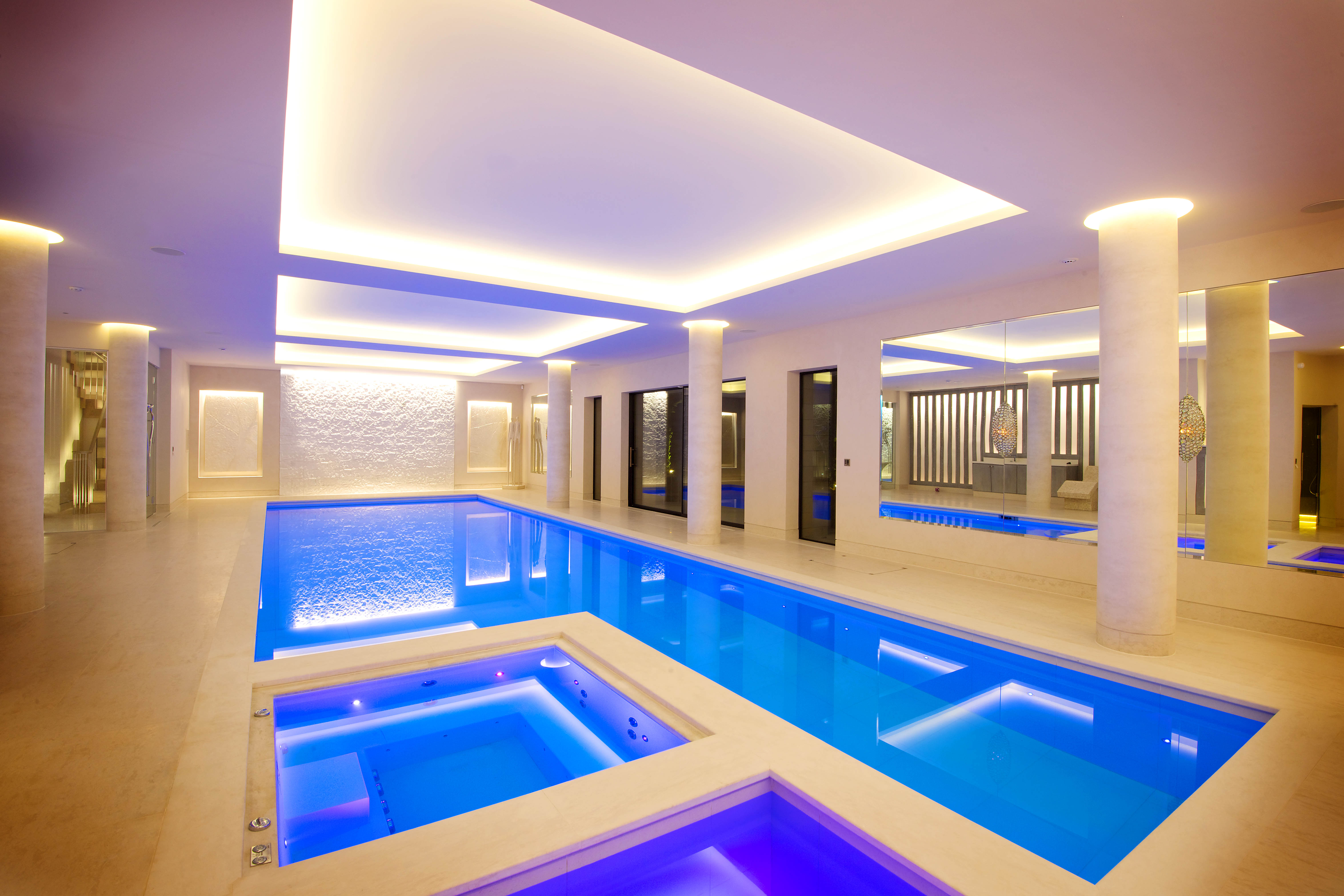 swimming poolgraceful residential indoor pools design ideas with