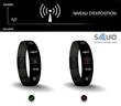 Le bracelet SQUID offre une protection contre les ondes dans la...