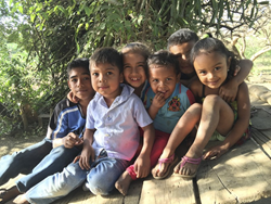 kids in Santa Pancha