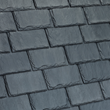 Castle Gray roofing tiles from DaVinci Roofscapes.