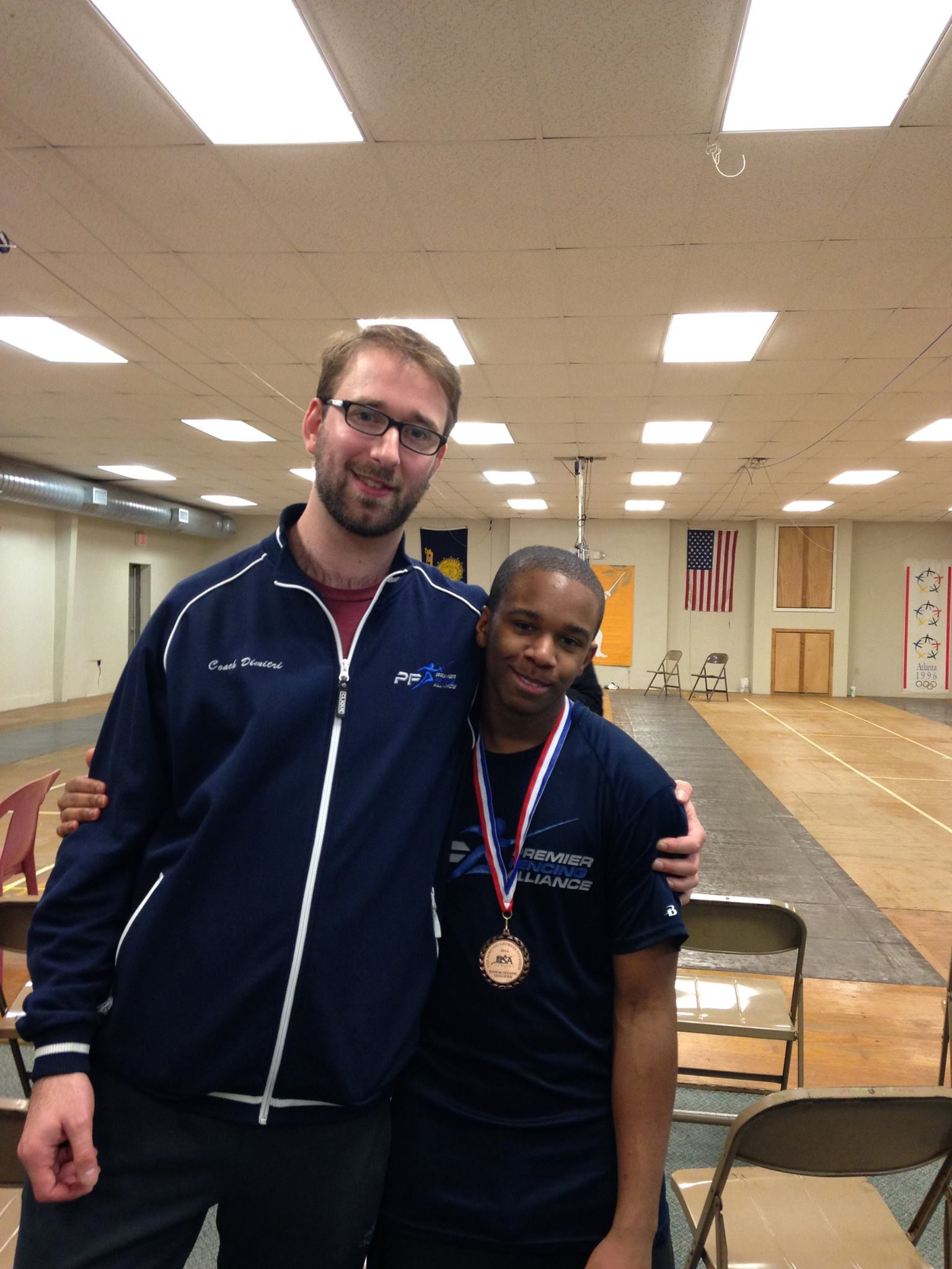 Local Fencing Club S Student Wins Top Honors In Regional