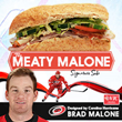 "Harris Teeter Unveils Carolina Hurricanes Brad Malone's ""The Meaty Malone"" Signature Sub Sandwich"