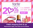 BeautyStat.com Exclusive: 20% Off Promo Code Discount Coupon On tarte...