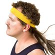 Instant Mullet with Headband from Stupid.com