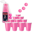 Pink Beer Pong Set from Stupid.com