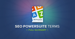 seo glossary of seo powersuite terms