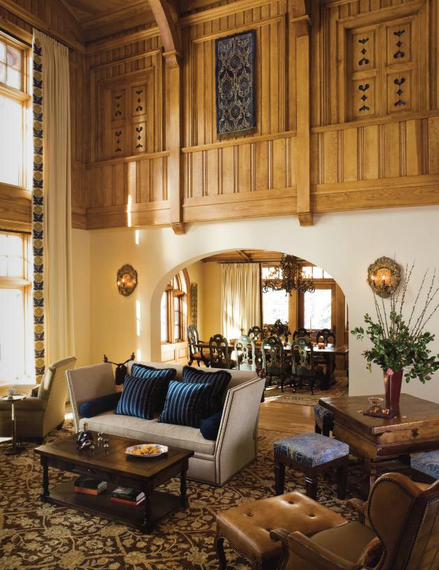 Interior Designer Kathy Best S Elegant Tyrolean Ski House