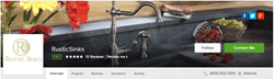 Banner for Rustic Sinks on Houzz