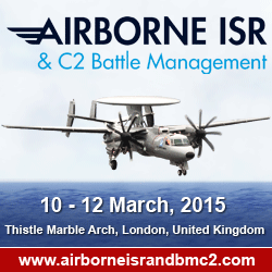 Airborne ISR and C2 Battle Management 2015 - London, UK