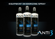 Anti3 Protect Series Launches Equipment Deodorizing Spray That Kills Odor And Illness Causing Bacteria And Fungus Infections