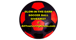 Glow in the Dark Soccer Ball Giveaway