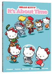Set an appointment for fun in HELLO KITTY: IT'S ABOUT TIME, Hello Kitty and friends' sixth original graphic novel outing!
