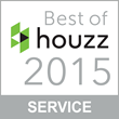 Best of Houzz 2015 Award in Customer Service