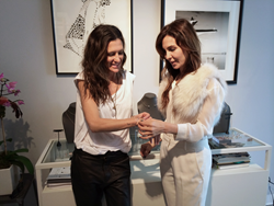 Iconery Creative Director Andrea Linett Together With CFDA Jewelry Designer Paige Novick
