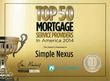 Mobile Mortgage Technology Provider SimpleNexus Receives Back-to-Back...