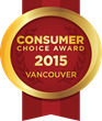 2015 Vancouver Consumer Choice Award-Winners