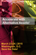 Retirement Industry Trust Association to Host Upcoming Self-directed IRA Conference – Accelerate Your Knowledge on Alternative Assets, March 23, 2015 in DC