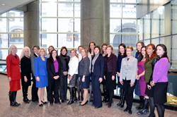 CREW New York board members and committee chairs came together for CREW New York's first luncheon of 2015.