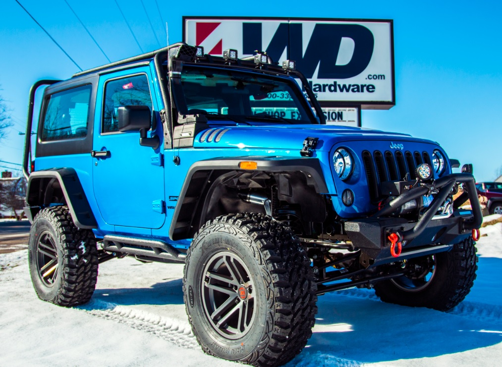 Used Jeep Wrangler Parts >> 4WD and Rugged Ridge Team Up to Stage Ultimate Rugged Wrangler Giveaway