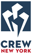 CREW New York's new identity reflects the organization's professional image and articulates its unified spirit after the merge between AREW and NYCREW.