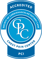 chest pain accreditation seal