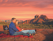 A Dream Date in Sedona Among the Purple Skies and Red Rocks