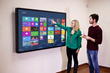 "75"" Presenter Multitouch Wall"