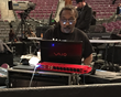 Danny Leake, Stevie Wonder's FOH Engineer, in action with Antelope Audio Zen Studio in foreground.
