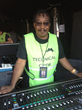 Danny Leake, who has been Stevie Wonder's FOH engineer for 22 years, is responsible for providing a spectacular audio infrastructure for each of the shows.