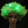Green Flashing Wig from Sureglow.com