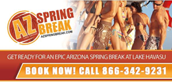 AZ Spring Break - Call now to Book!  866-342-9231