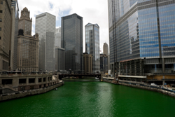 Chicago Events, Dyeing of the Chicago River, Chicago Hotel