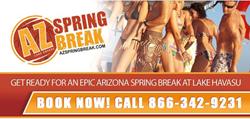 AZ Spring Break - Call now to Book!  866-342-9231